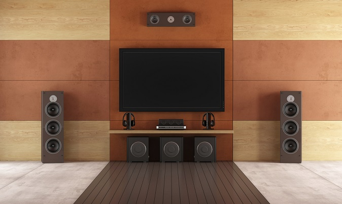 Musik und Fernsehen in der Einrichtung